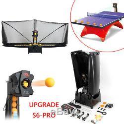 S6-pro Machine De Balle De Ping-pong Pour Robot De Tennis De Table Automatique Recyclant Net 50w Us