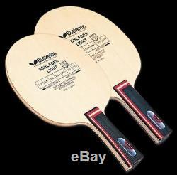 Schlager Lumière Carbone Papillon Fl Shakehand Lame, Paddle Tennis De Table