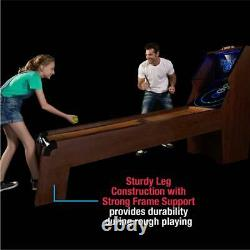 Skee Ball Roll & Score Game Table 9-ftled Light Home Arcade Sports Play Famille
