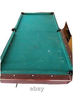 Solex Addison Billiard Table Avec Tennis De Table Top Black