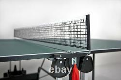 Sponeta 1-42 I Grün IM Set Indoor Tischtennisplatte Abdeckhülle U Schlägerset