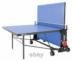 Sponeta 4-73 Etischtennisplatte Extérieur Blau Wetterfest Tischtennistisch M Netz