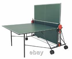 Sponeta S 1-42i 1-43i Indoor Tischtennisplatte Grün Blau Hobbyline Mit Netz