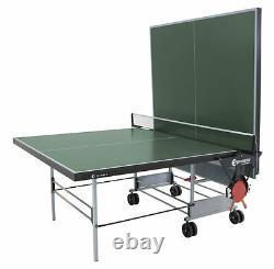 Sponeta S 3-46 I Grün Indoor Tischtennisplatte Mit Netz Tischtennistisch