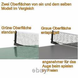 Sponeta S 4-70 E Outdoor Tischtennisplatte Grau Wetterfest Tischtennistisch