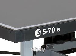 Sponeta S 5-70e Extérieur Tischtennisplatte Grau Wetterfest Netz Tischtennistisch