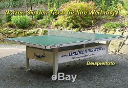 Sponeta S 6-67 E Tischtennisplatte Wetterfest Extérieur Blau Y Compris Netzgarnitur