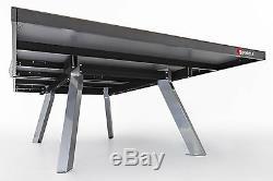Sponeta S 6-80 E Tischtennisplatte Wetterfest Extérieur Grau Incl Netzgarnitur