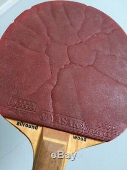 Stiga Contra Tout Au Long Bois Cobra Tennis De Table Paddel