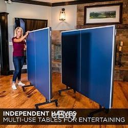 Stiga Indoor Advantage Tennis De Table Table De Ping-pong Bleu Sérigraphies Striping