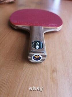 Stiga Offensive Bengtsson Bois Tennis De Table Bat / Lame
