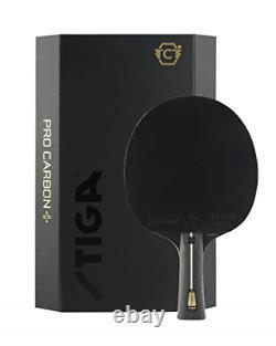 Stiga Pro Carbon + Bat De Tennis De Table