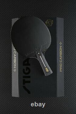 Stiga Pro Carbon + Batte De Tennis De Table