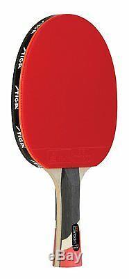 Stiga Pro Carbone Raquette De Tennis De Table Ping Pong Pagaies Caoutchouc Sport Jeux Indoor
