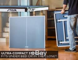 Stiga Space Saver Compact De Tennis De Table Pour Jeu Authentique Au Règlement