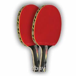 Stiga Suprême Du Tournoi De Ping-pong Pagaies Tennis De Table / Pagaies-lot De 2