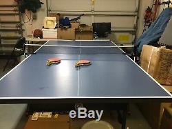 Stiga T8523 Pliable Tennis De Table Bleu. Utilisation Légère. Amazon 434,00 $
