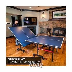 Stiga Tennis Table Légère Lockable Caster Amovible Net Indoor Games T8580w
