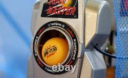 Super Emperor Table Tennis Robot, 5ème Gen, Collection Net, 100 Balles Auto Reload