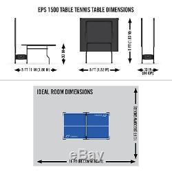 Table D'extérieur De Ping-pong Pliante Tennis De Table Intérieure Pleine Grandeur Officiel Roues