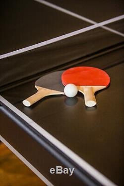 Table De Billard Billard 7 Avec Ping-pong Tennis Top 2-en-un De Conversion