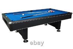 Table De Billard Black Shadow Slate De 8 Pieds Par Berner Billiards +ping Pong Top