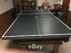 Table De Billard Dynamo Mcintire, Plateau De Table Et Accessoires Tiga Ping Pong