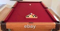Table De Billard Playmaster De L'amf Avec Table De Ping-pong En Forme De Menthe