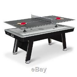 Table De Hockey Hover À Propulseur Pneumatique De 80 Pi Eastpoint Sports Avec Plateau De Tennis De Table