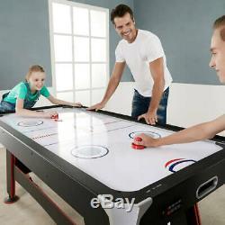 Table De Hockey Pneumatique De 72 Pouces Espn Avec Plateau De Table Et Buteur De Table