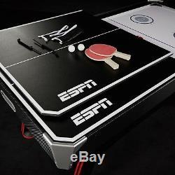Table De Hockey Pneumatique De 72 Pouces Espn Avec Sommier De Table De Tennis De Table
