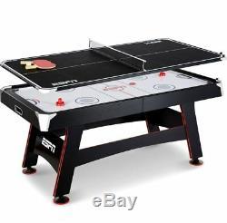 Table De Hockey Sur Air Pour Tennis De Ping-pong Multi-jeux Pour Enfants, 72 Pouces En Jeu De Rails