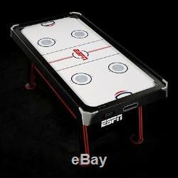 Table De Jeu Multi-joueurs 2 En 1 Pour Hockey Sur Air Et Tennis De Table Avec Score Électronique