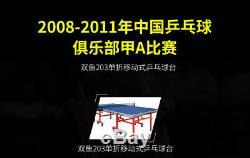 Table De Ping-pong 203 Pour La Compétition De Clubs Nationaux, Le Ramassage Ou La Navigation