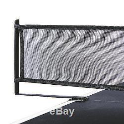 Table De Ping-pong Avec Table De Conversion Pour Table De Ping-pong - Jeu De Lecture Noir Portable