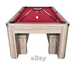 Table De Ping-pong De La Piscine Park Avenue De 7 Pi Avec Table De Ping-pong Avec Bancs Et Billard