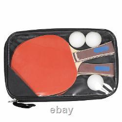 Table De Ping-pong De Tennis De Table Avec Paddle Idéal Pour Les Petits Espaces Intérieurs/extérieurs