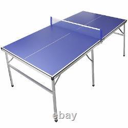 Table De Ping-pong De Tennis De Table Intérieure/extérieure Avec Paddle Idéal Pour Les Petits Espaces