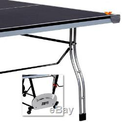 Table De Ping-pong En Métal Espn Original 4 Pièces Pliant En Plein Air
