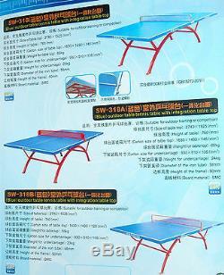 Table De Ping-pong En Plein Air De Qualité Très Durable