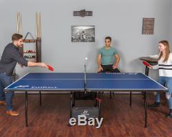 Table De Ping-pong En Plein Air Table De Ping-pong Pliante Intérieur Roues De Taille Officielle