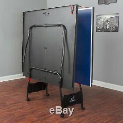 Table De Ping-pong En Plein Air Table Pliante Tennis Intérieur Complet Roues Taille Officielles