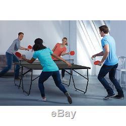 Table De Ping-pong Pliante Conversion Supérieure Table Extérieure Enfants En Plein Air Drôle