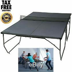 Table De Ping-pong Pliante Conversion Top Board Indoor Outdoor Kid Fun Fun Nouveau