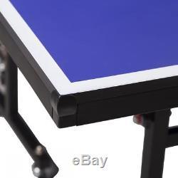 Table De Ping-pong Pliante De Qualité Professionnelle Et Filet 740
