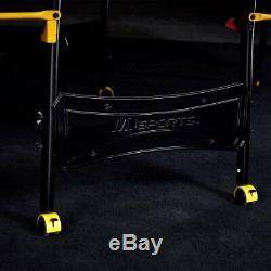 Table De Ping-pong Taille Officielle MD Sports, Noir / Jaune W
