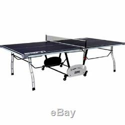 Table De Tennis Ping Pong Jeu De Sport En Plein Air 4 Pièces Fête De Famille Dans La Cour Espn