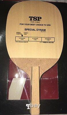 Table Japonaise De Raquette De Tennis Penholder Tsp Dynam Spécial Ping Pong