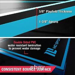 Table Officielle De Ping-pong De Tennis De Table À L'intérieur Avec Pagaie Et Boules Extérieures