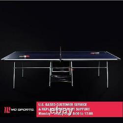 Table Officielle De Ping-pong De Tennis De Table À L'intérieur/à L'extérieur Avec Pagaie Et Balles